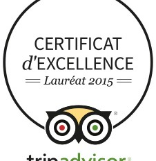 Certificat d'Excellence Trip Advisor pour l'Orange Hotel