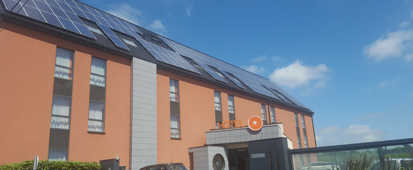 energie solaire hotel